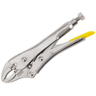 Stanley Locking Pliers 9in Curved Jaw