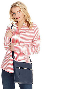 F&F Bucket Cross-Body Bag Navy One Size
