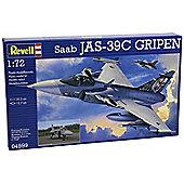Saab JAS 39C Gripen 1:72 Scale Model Kit - Hobbies