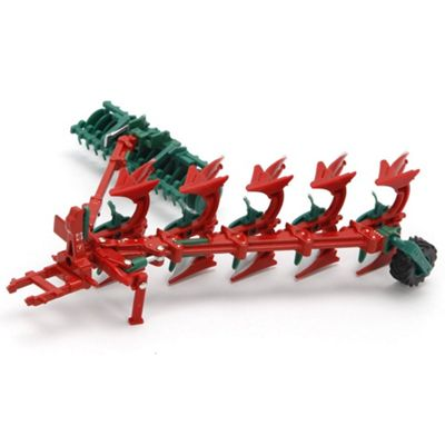 Britains 1:32 Kverneland Plough and Packomat