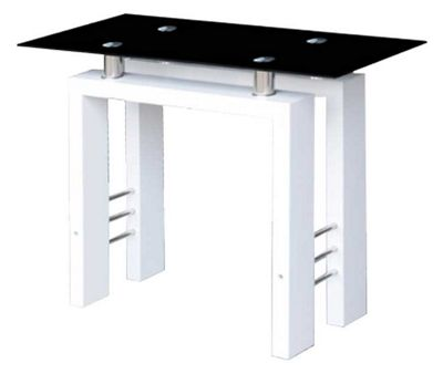 ValuFurniture Metro Console Table White