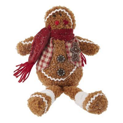Gingerbread Man Shelf Sitter - Small