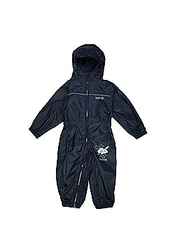 Regatta Kids Puddle IIII All in 1 Suit - Navy
