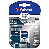 Verbatim 16GB Pro U3 SDHC UHS Class 10 memory card