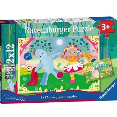 Fun in the Garden - 2x12pc Puzzle