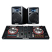 Numark Mixtrack Pro 3 DJ Controller & Numark N-Wave 580 Powered Monitors - Home DJ Package