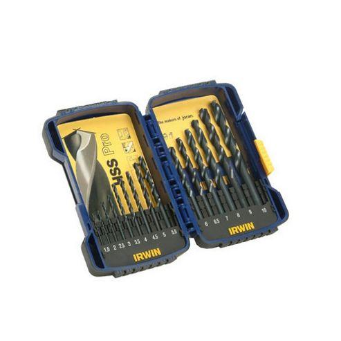Pro Drill Set HSS 15 Piece