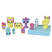 Shopkins Happy Places Decorator Pack - Bunny Bathroom