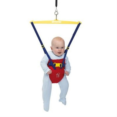 Tippitoes Doorway Bouncer (Red)