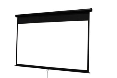 Duronic MPS70 Manual Pull Down Projector Screen - 70