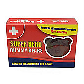 Novelty Gummy Bear Sweets - Super Hero