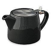 Forlife Stump Infuser Teapot 18oz in Black