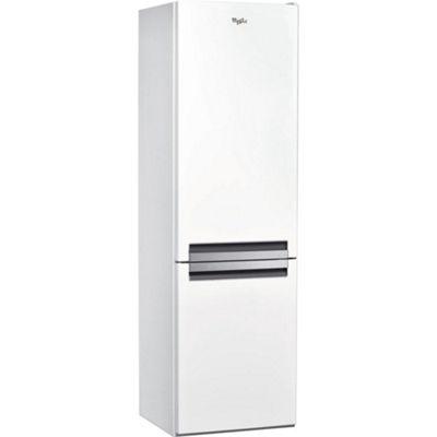 Whirlpool BSNF8151W 356litre Fridge Freezer, Stainless Steel