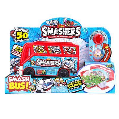 Smashers Team Bus