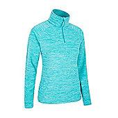 Mountain Warehouse Snowdon Melange Womens Fleece ( Size: 12 )