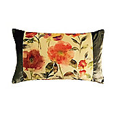 McAlister Floral Velvet Cushion - Soft Touch 50x30cm