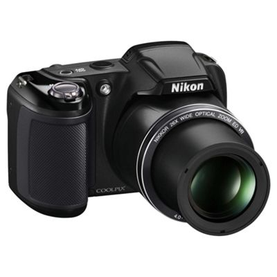Nikon Coolpix L320 Camera Black 16.1MP 26xZoom 3