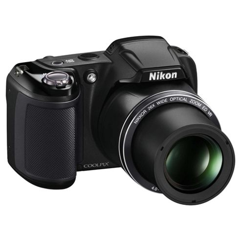 Nikon Coolpix L320 Camera Black 16.1MP 26xZoom 3