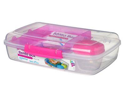 Sistema Bento Box 1.76L, Pink