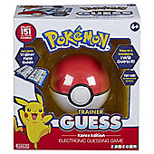 Pokemon Trainer Guess Electronic Guessing Game