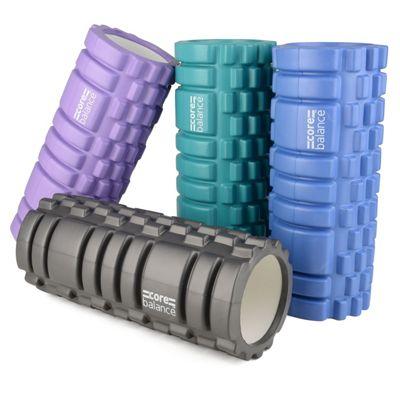 Core Balance Foam Massage Roller - Grey