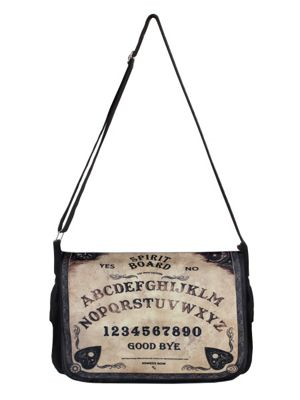 Spirit Board Black Messenger Bag