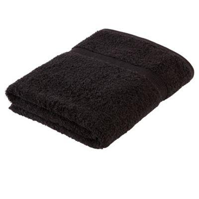 Tesco Fresh Touch Anti-Bacterial Bath Towel Black
