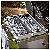 Outback Stainless Steel BBQ Tool Set in Aluminium Case