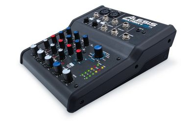 Alesis MultiMix 4 USB FX 4 Channel Mixer With Effects And USB Audio Interface