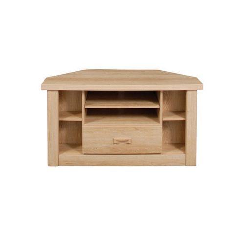 Caxton Countryman Wooden Corner TV Cabinet