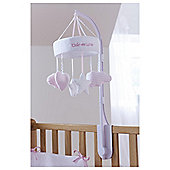 Clair de Lune Little Dreams Baby Mobile, Pink