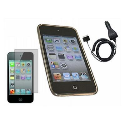 Black ProGel Case for Apple iPod Touch 4G