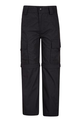 Mountain Warehouse Active Kids Convertible Trousers ( Size: 7-8 yrs )