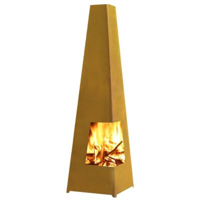 Gardenmaxx Chacana XL 150cm Fireplace - Corten