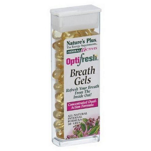 Natures Plus Optifresh Herbal Breath Gels 1 Pack