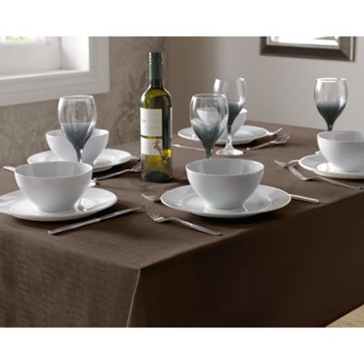 Select Oblong Tablecloth 135x180cm - Chocolate