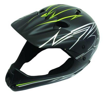 Savage Full Face Matt Black Finish Helmet 54-58cm
