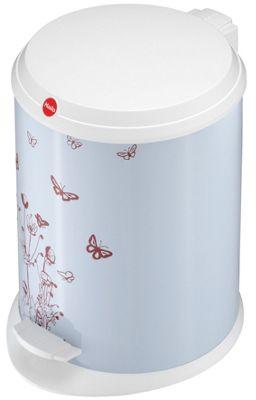 Hailo T1.13 Butterfly Pedal Bin in White