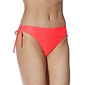 F&F Side Tie Bikini Briefs - Orange
