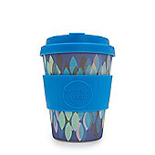 eCoffee Cup Sakura Blue with Blue Silicone 12oz