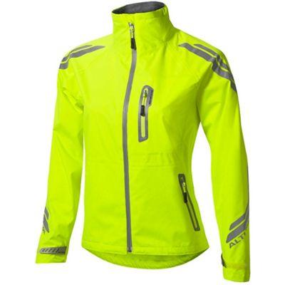 Altura Night Vision Evo Womens Waterproof Jacket Hi Vis Yellow Size: 10