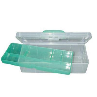 SHAKESPEARE TRANSPARENT TACKLE BOX-1 TRAY