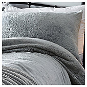 Silent Night Teddy  Duvet Set - Grey