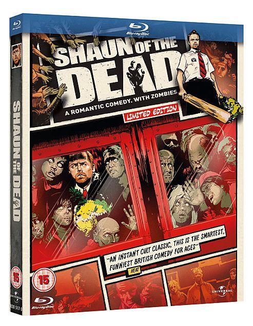 Shaun Of The Dead Blu-Ray (Reel Heroes)