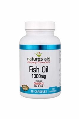 Natures Aid Omega 3 Fish Oil 1000mg - 90 Capsules