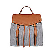 F&F Striped Backpack