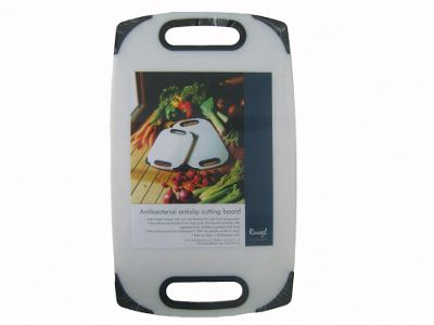 Russell Yt1173 Anti Bacterial Chopping Board Lge Black .Trim
