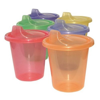 Dreambaby 7oz Lose or Re-Use Tumblers Pack of 6