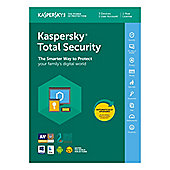 Kaspersky KTS2018-3D1YUK Internet Security 2018 1 Year Subscription for 3 Devices
