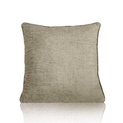 Alan Symonds Cream Chenille Cushion Cover - 18x18 Inches (45x45cm)